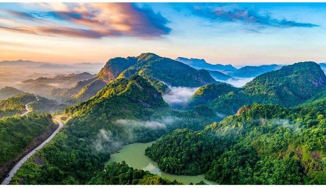 第十二届北京国际山地徒步大会梅州·平远站活动在这里举行