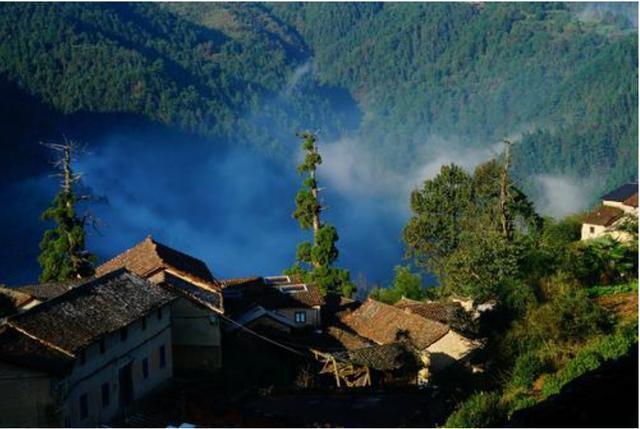 一座拥有600年历史的古村,悠然宁静岁月静好,就坐落在湖南