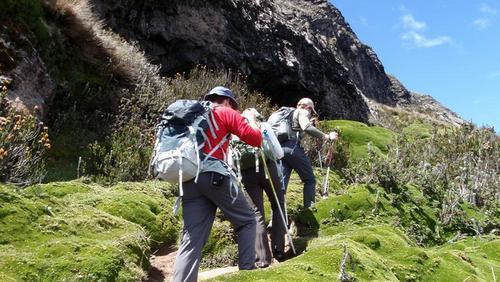 你在爬山的过程中,感受到了什么?